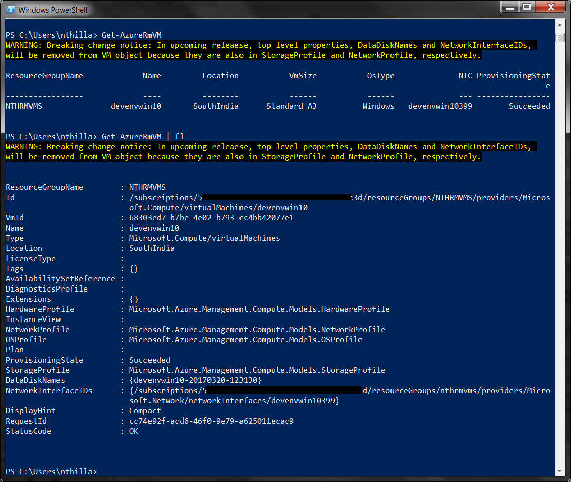Interacting with the Azure CLI v2 0 - Navneet Thillaisthanam