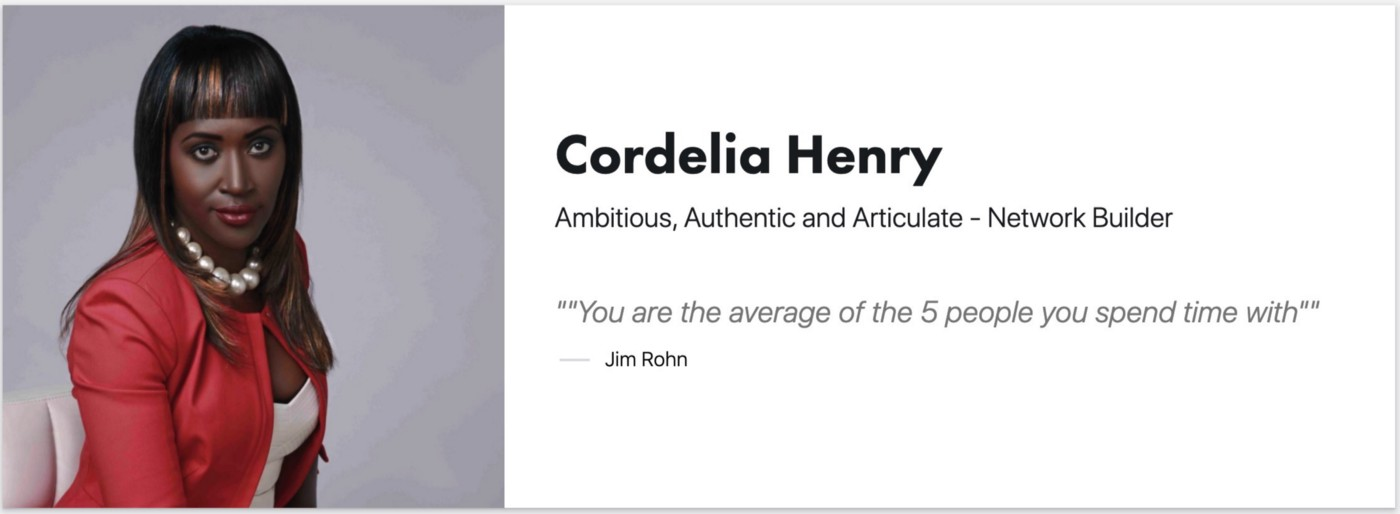 Cordelia Henry—Founder Pearlescence