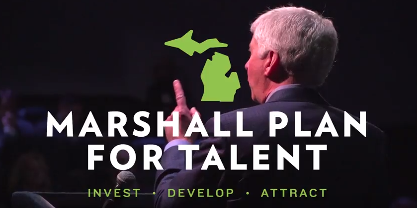 """Five big things Michigan Gov  Rick Snyder wants done  All of them iffy"""""""