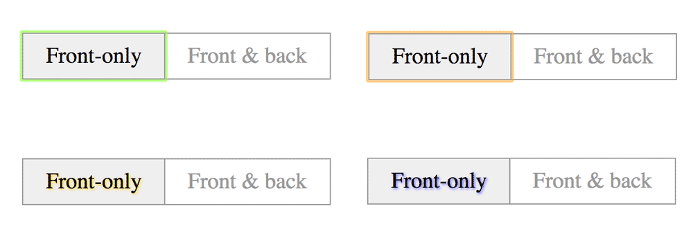 Customize Radio Buttons without Compromising Accessibility