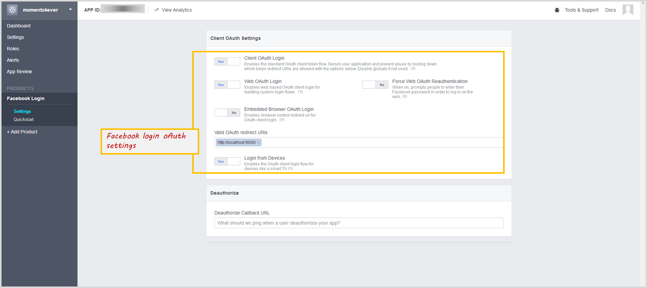 Adding Facebook oAuth to our App - Developing an Angular-4 web app