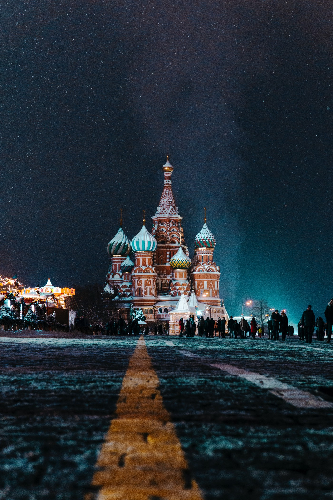 Moscow, Russia- Saint Basil's Cathedral