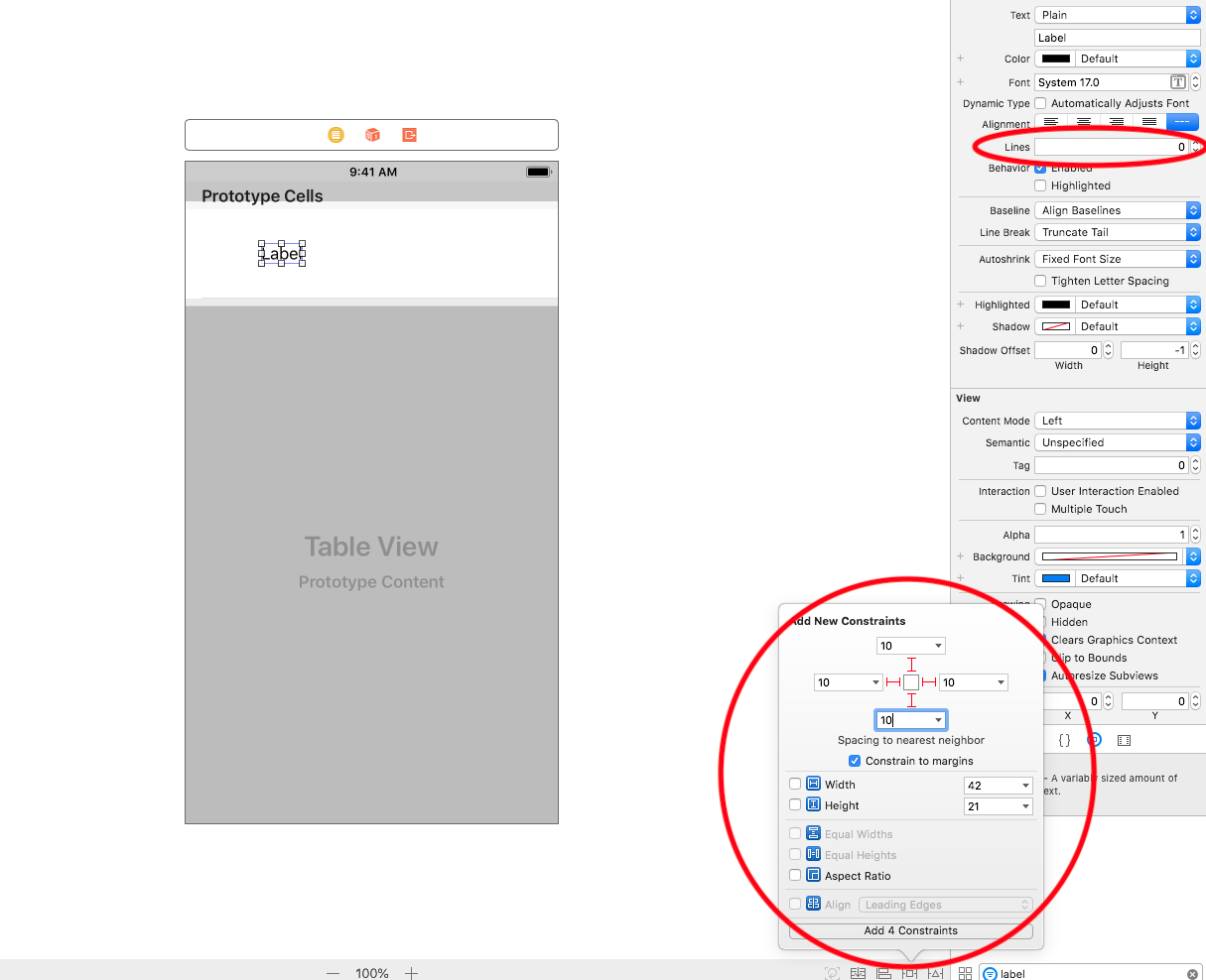Resize UITableViewCell Automatically With 2 Lines Of Codes