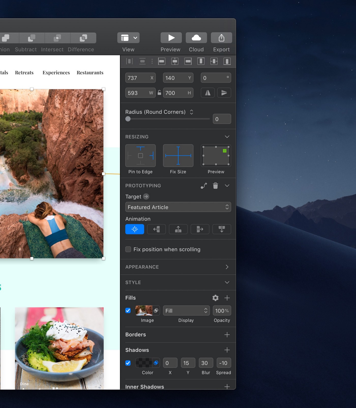 Dark Mode, Data, a brand new look and more in Sketch 52