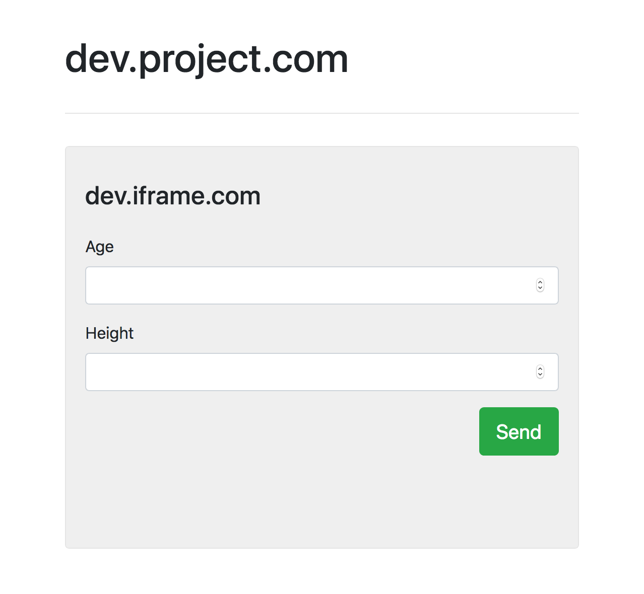 Cross-Domain Communication: Parent Window and Child IFrame
