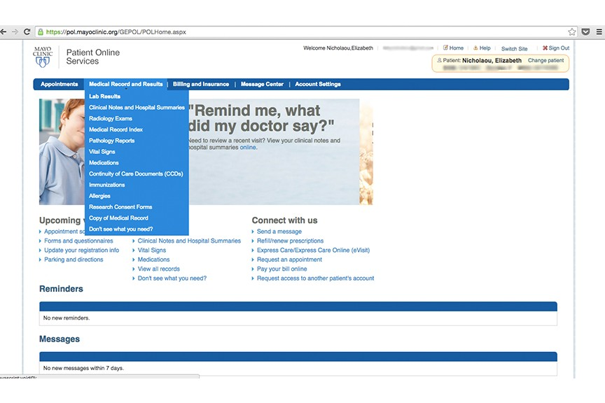 The Mayo Clinic app, what every patient app should be