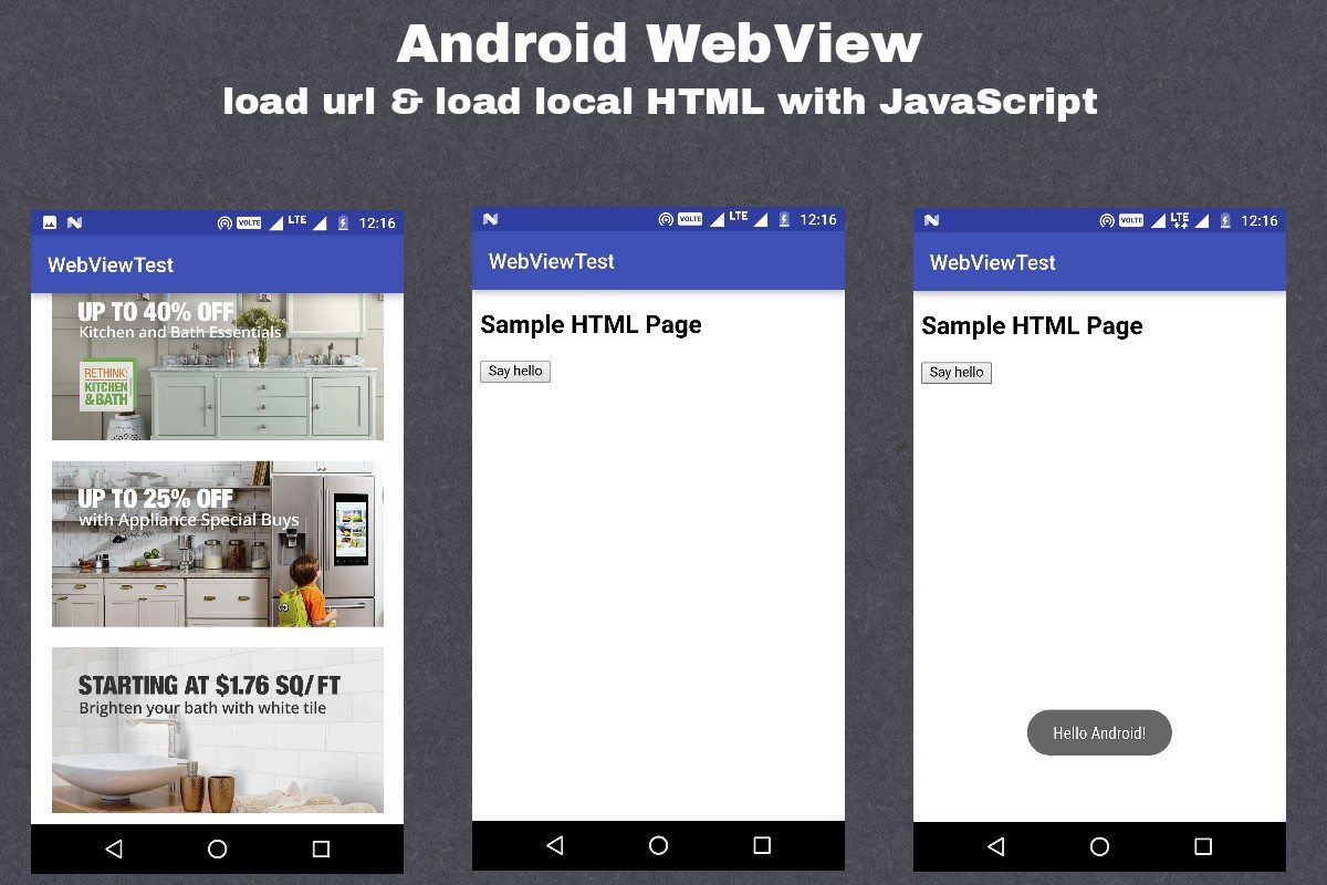 📱 Android WebView - Ramkumar N - Medium