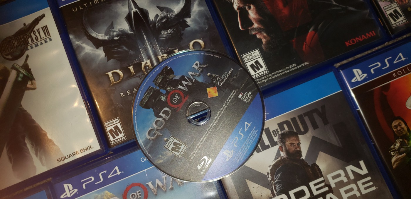 Box Art and Game Disc of Video Games