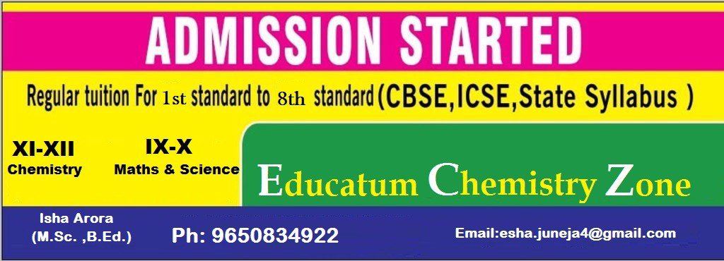 Math's And Science Classes in Laxmi Nagar — Educatum Chemistry Zone