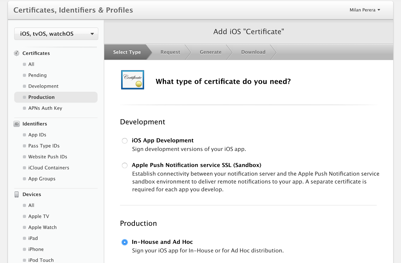 """How to export """"in-house"""" developed iOS app as an enterprise application"""