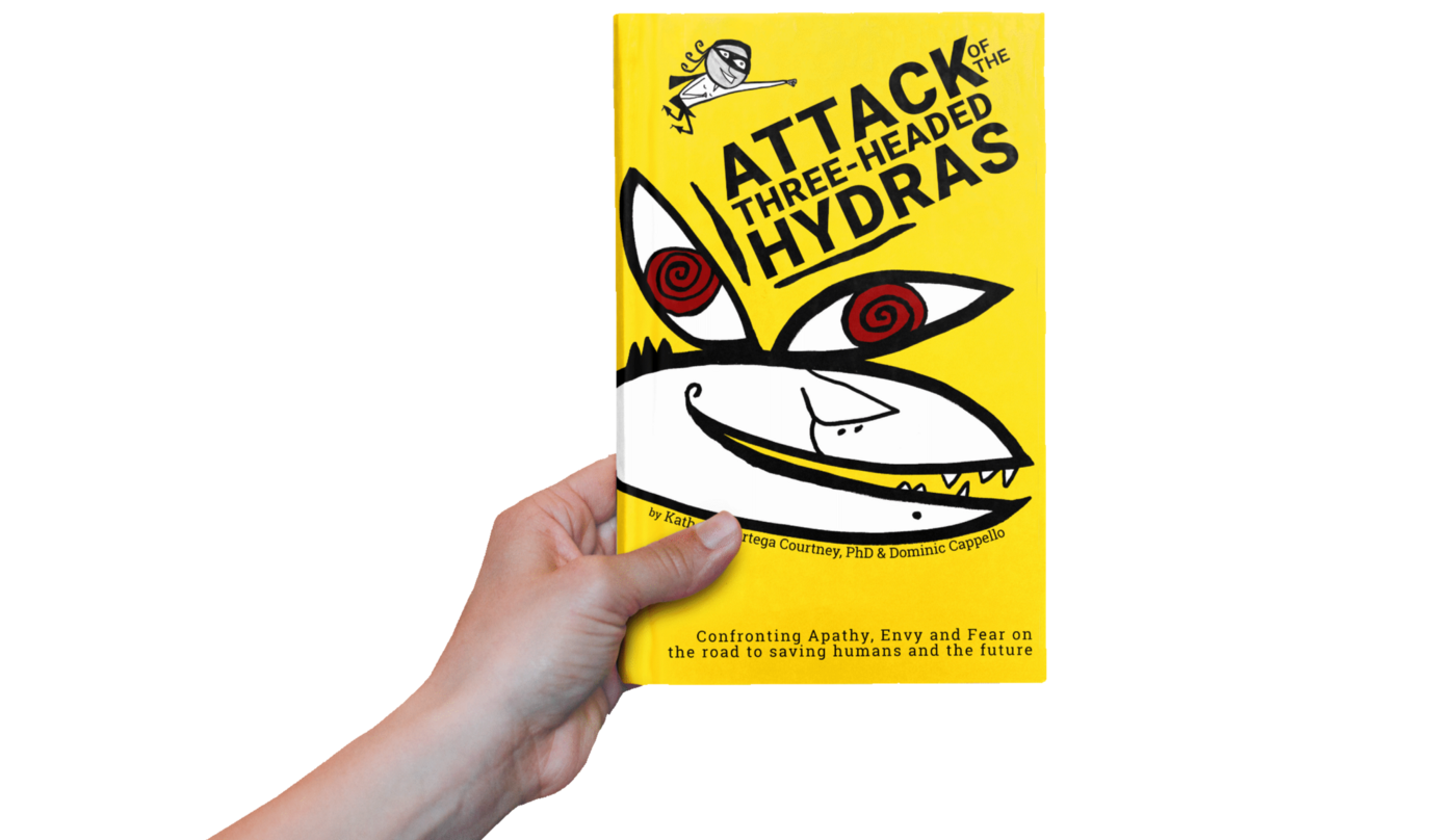 The new book Attack of the Three-Headed Hydras