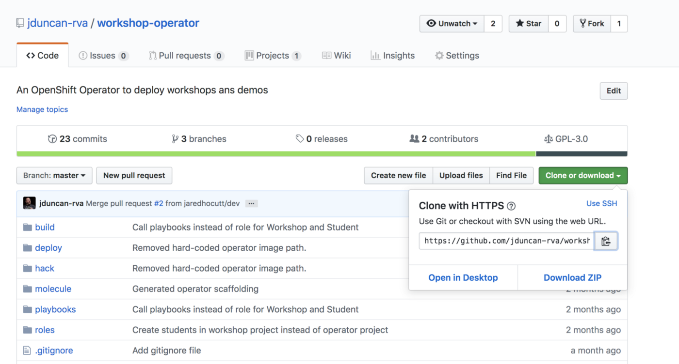 A Practical kubernetes Operator using Ansible — an example