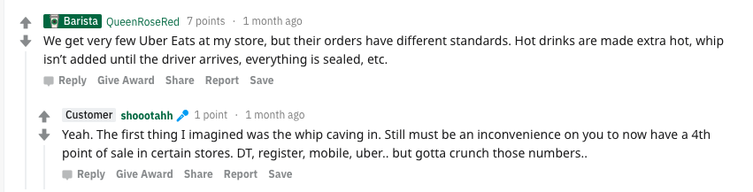 Here's what workers are saying about app-based food delivery