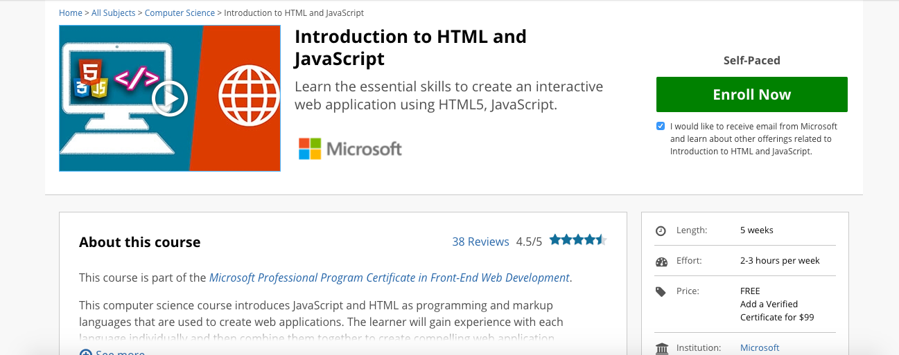 6 best online courses to learn CSS and Javascript - Billeasy Foundry