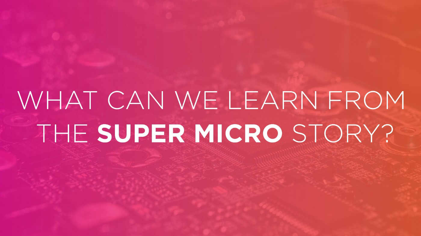 What can we learn about supply chain security from the Super