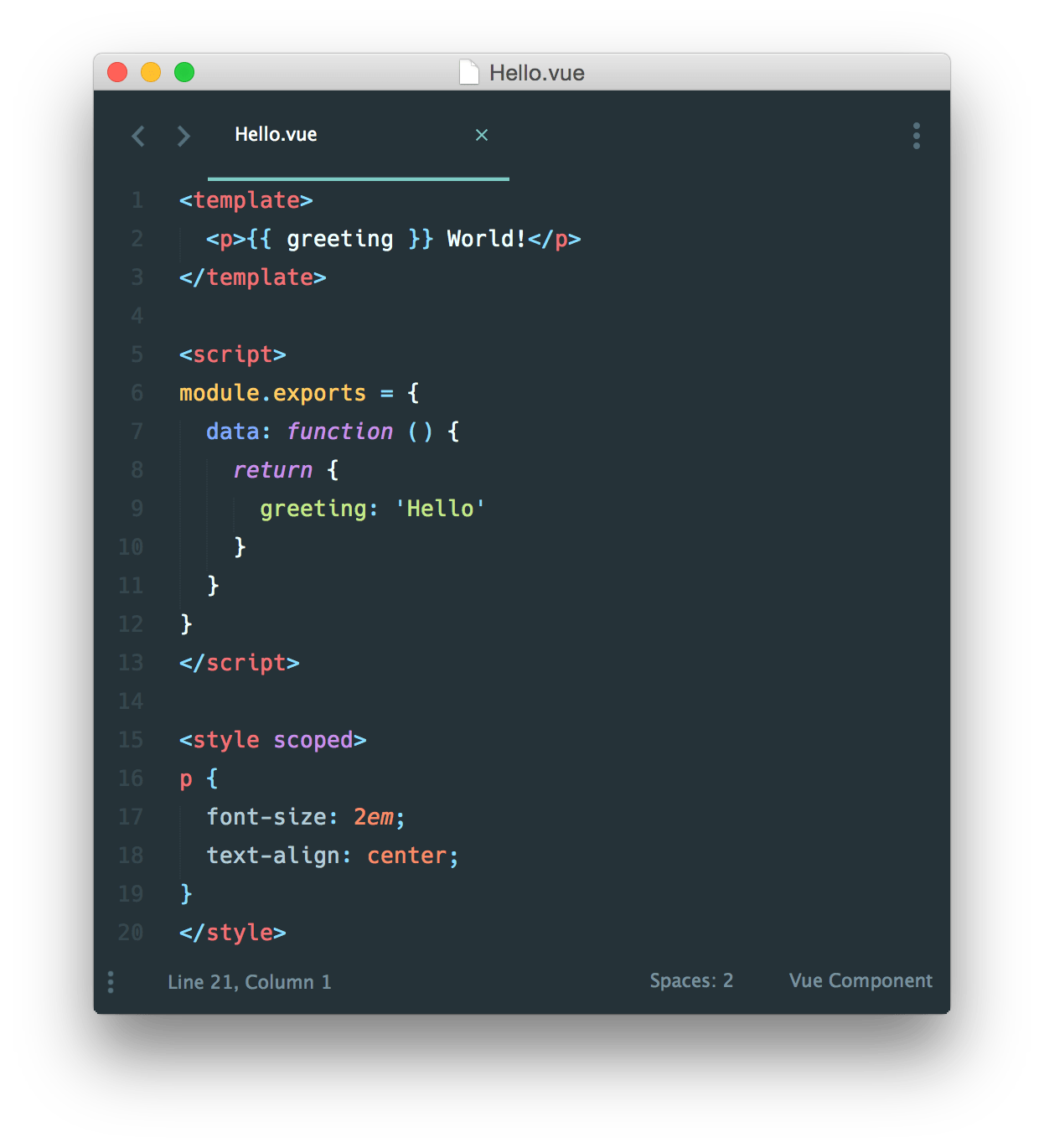 Writing Single File Components (Vue Files) in Typescript: vue-class