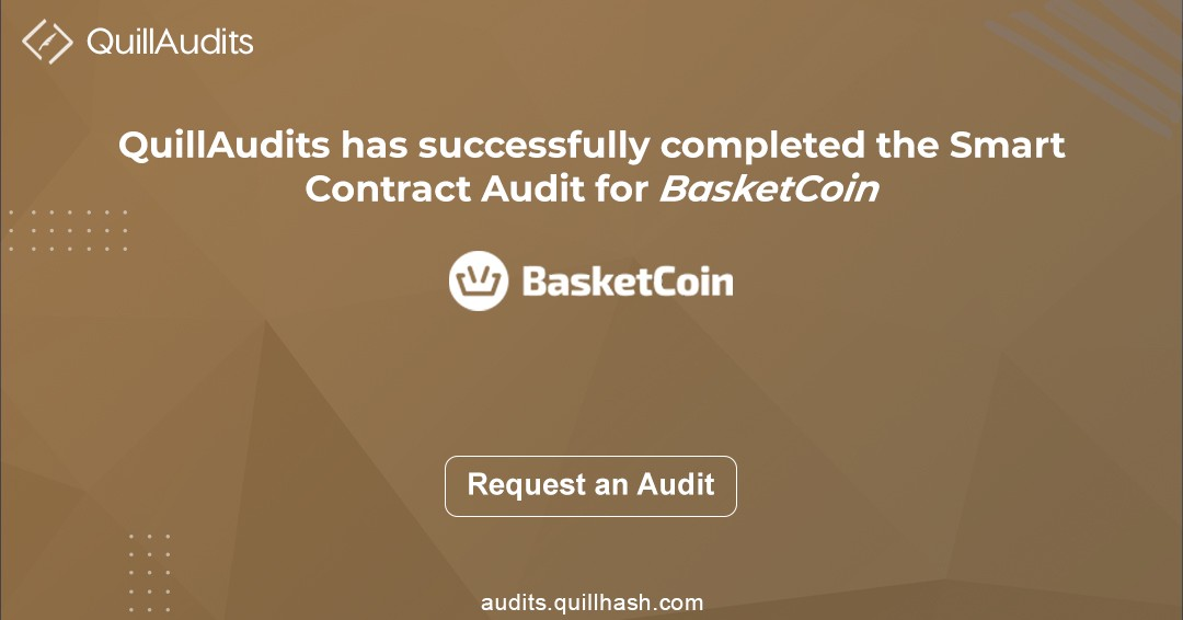 Smart contracts audit report | BasketCoin smart contract report