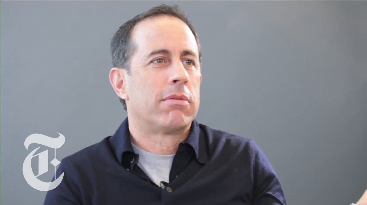 Jerry Seinfeld describing his process