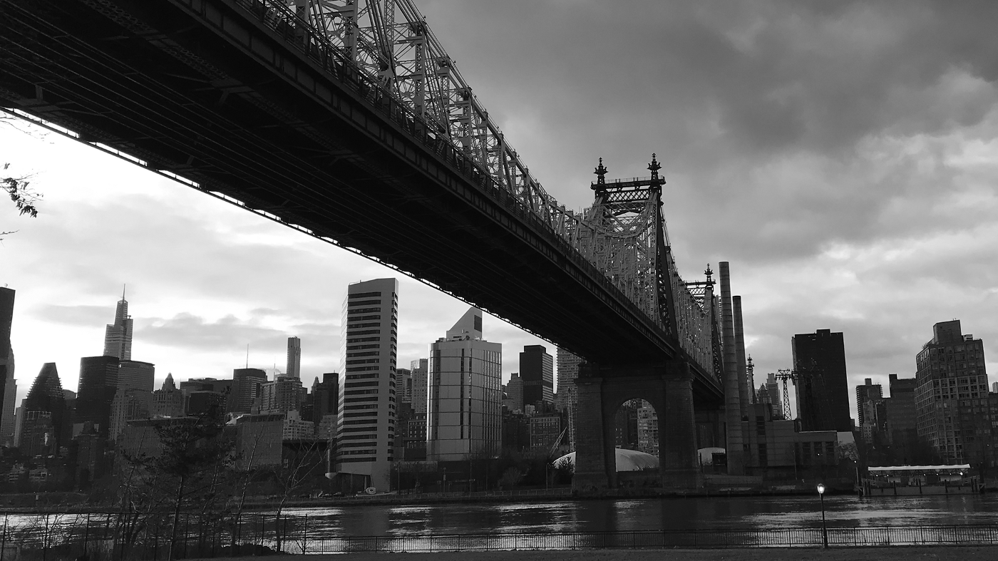 Queensboro bridge in new york