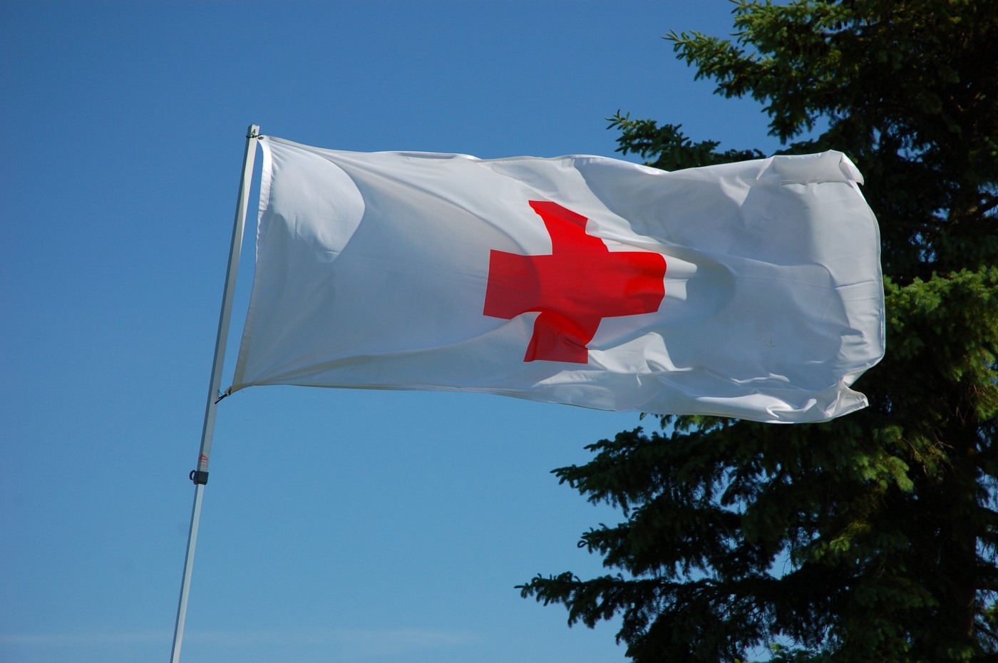 The Red Cross flag
