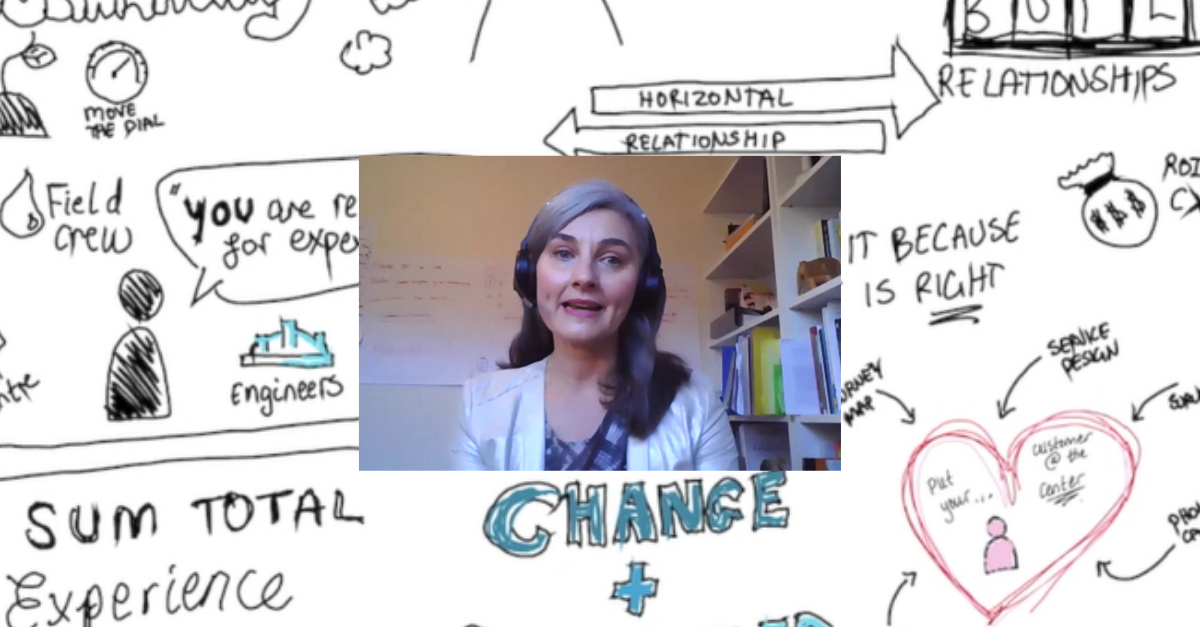 Bringing your customers on a journey in a time of change with Dr Anna Lorenzetto