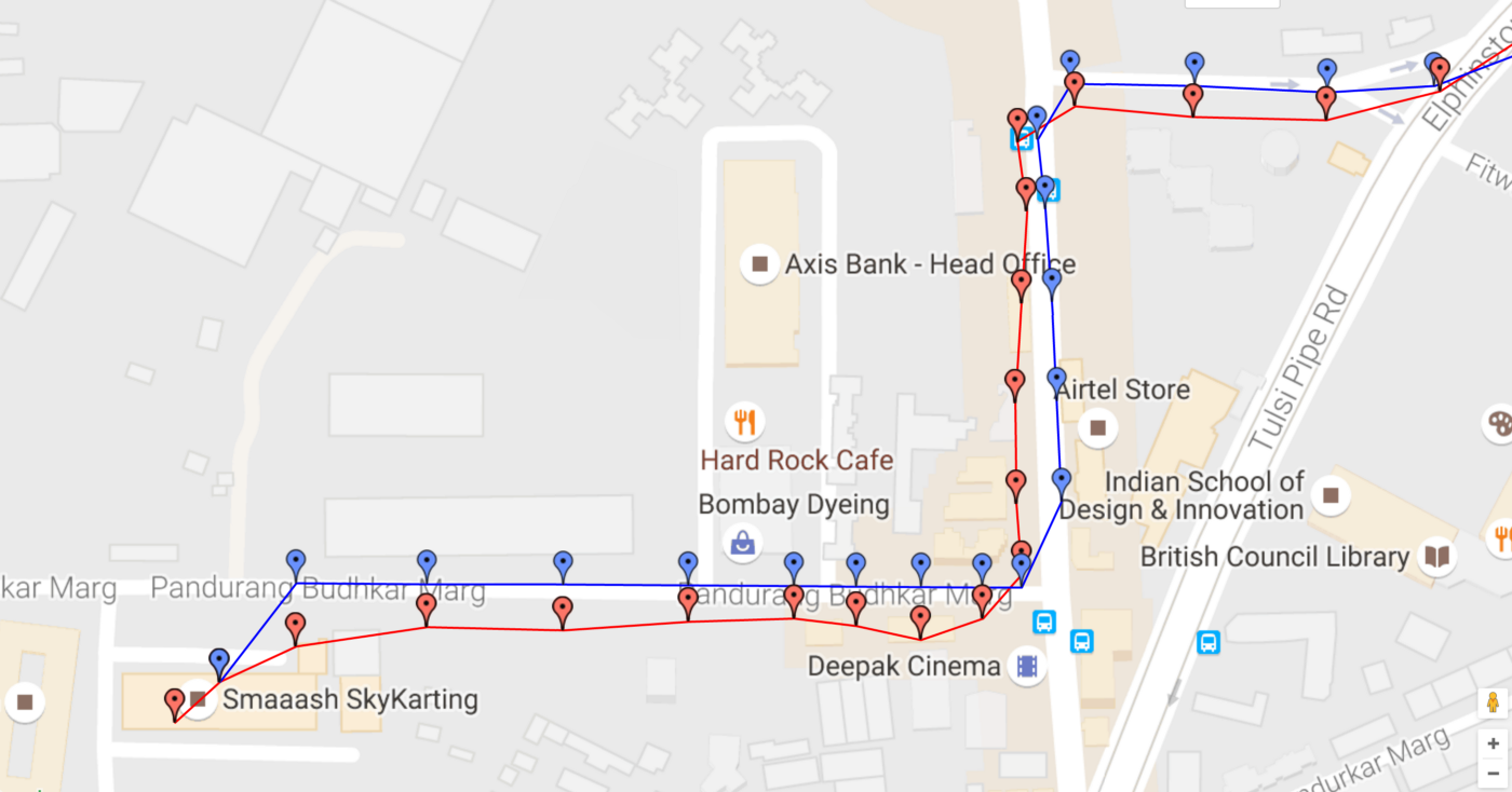 Our framework for real-time filtering of location streams