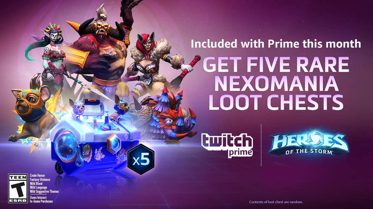 New Rewards for Twitch Prime Members! - Twitch Blog
