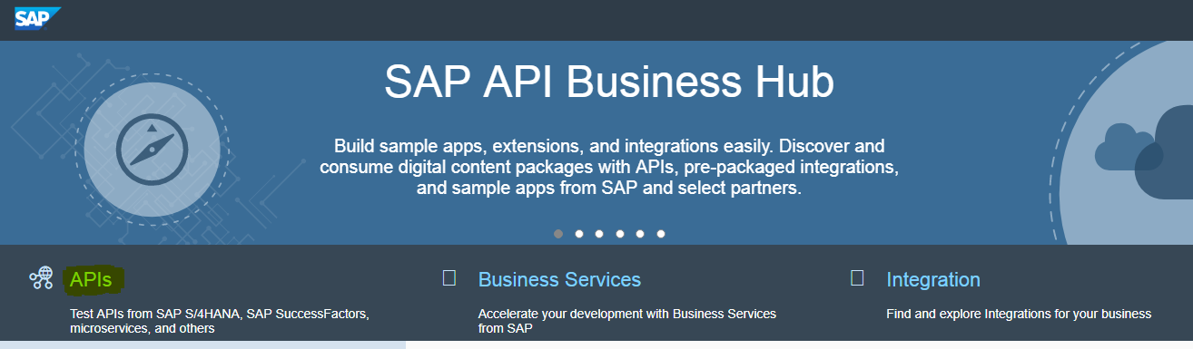 SAP API Business Hub - Sumit Kharya - Medium