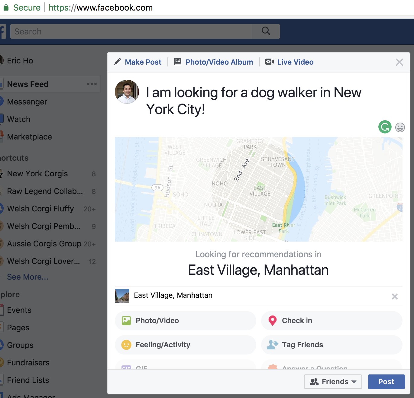 How To Use Facebook Recommendations To Get New Business