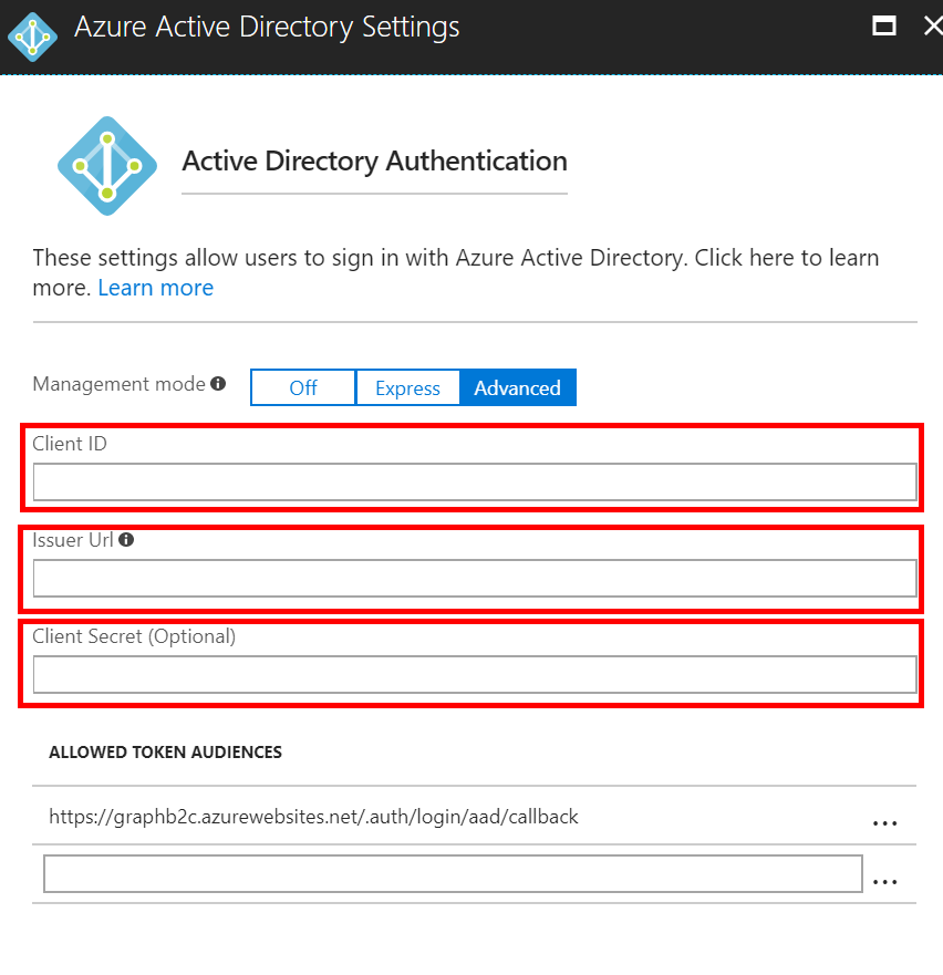 Configuring Microsoft Graph bindings for Azure Functions with B2C