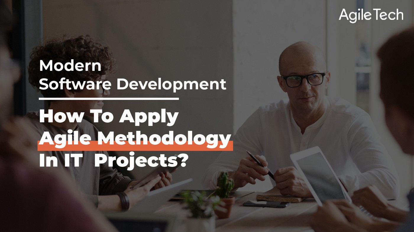 how to apply agile methodology in software development and guide to implement agile project management