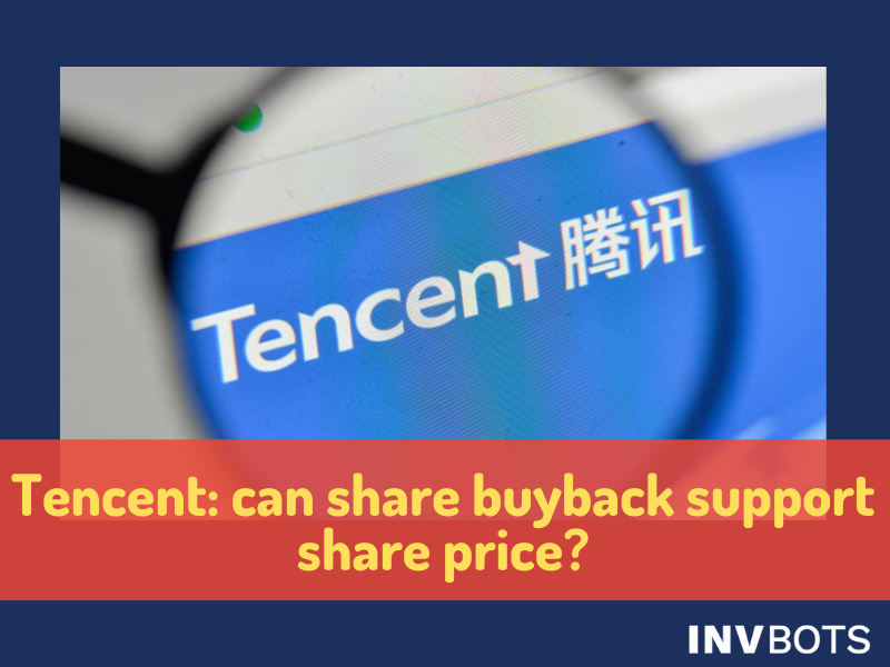 TECENT:BUY BACK SUPPORT SHARE PRICE