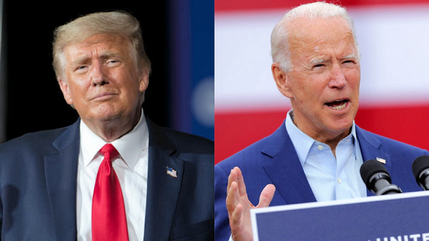 Biden can be a man instead of a puppet if he continues down Trump's path of success.