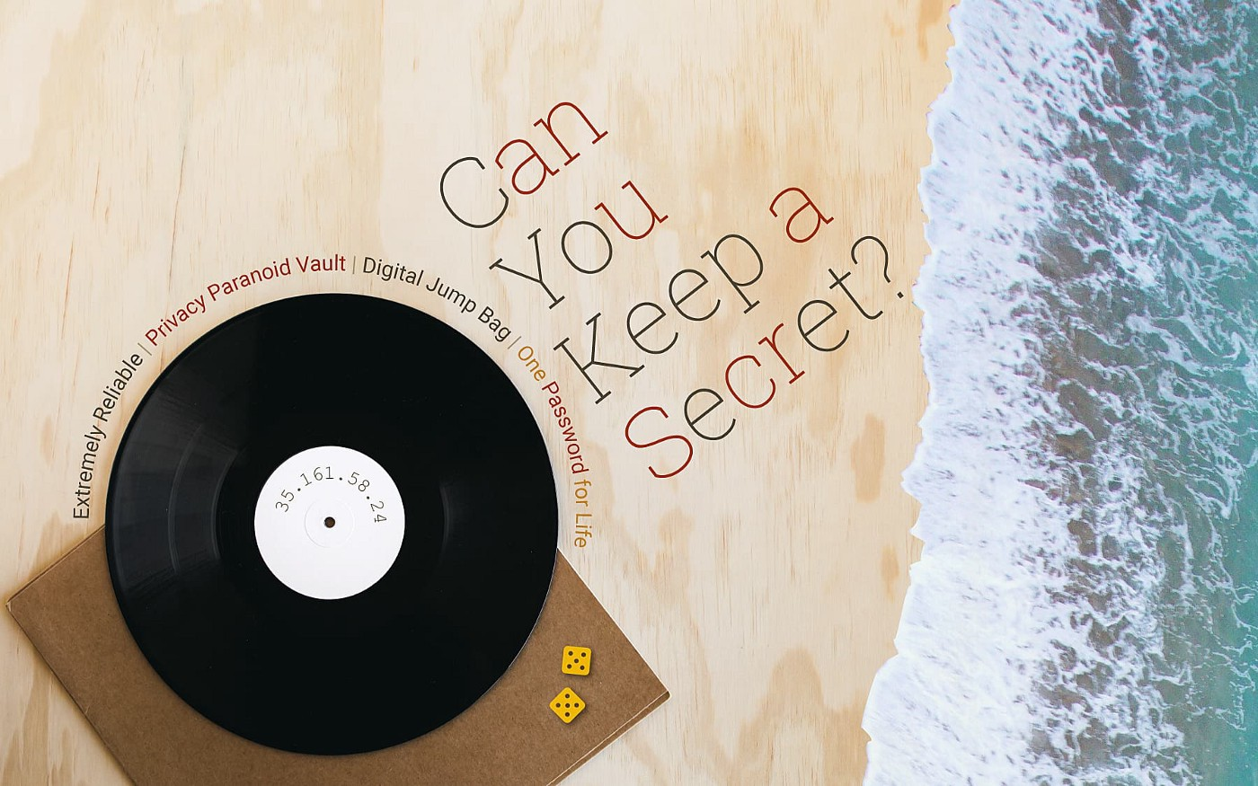 Can you keep a Secret? Record on a beach.