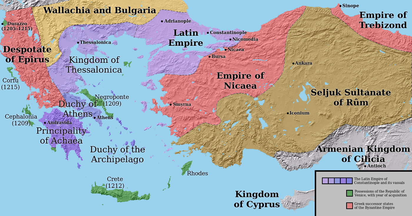 The Fourth Crusade and the Byzantine Empire - Christos Antoniadis