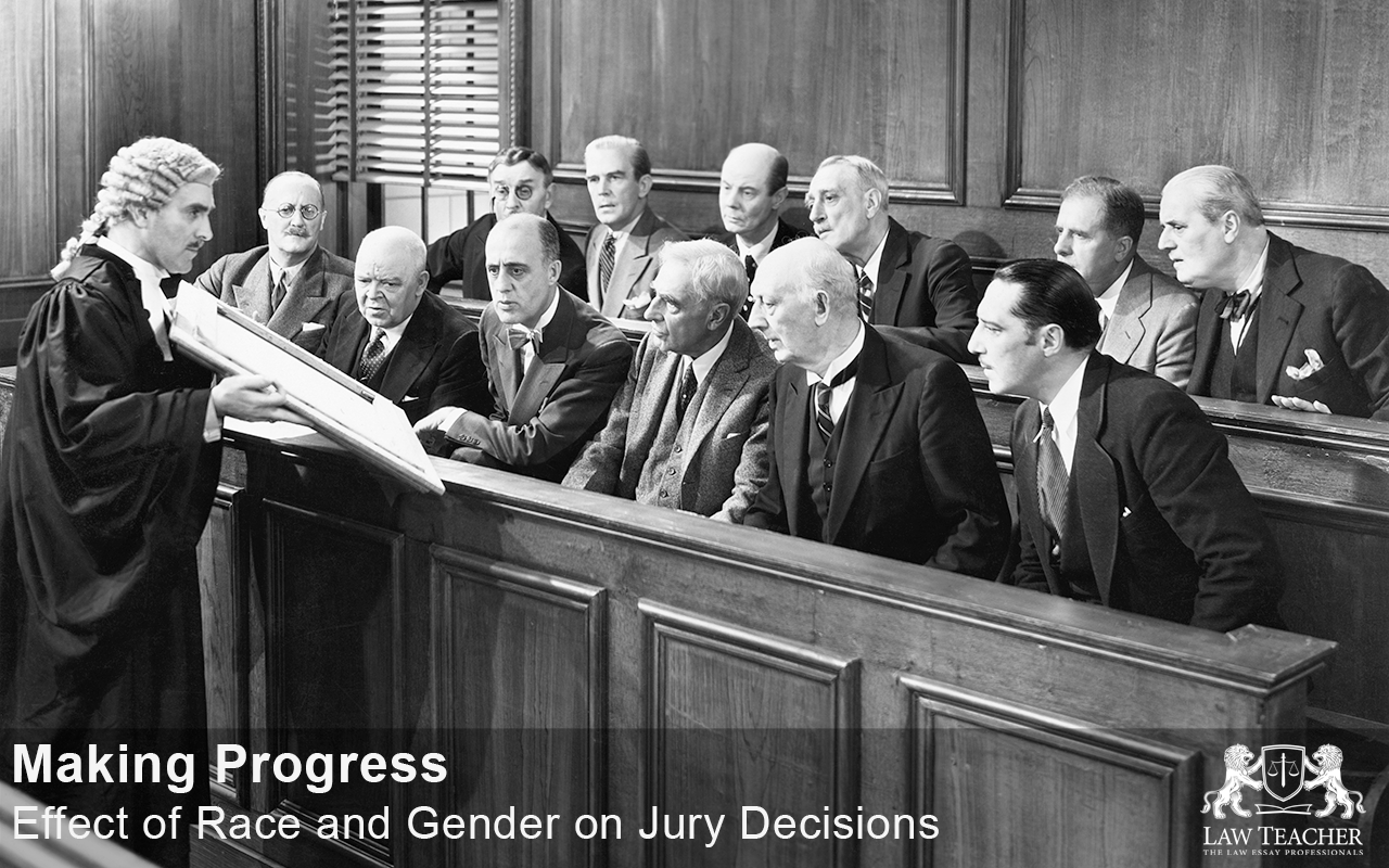 Making progress—effect of race and gender on jury decisions
