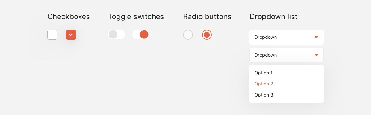The ultimate guide for selection controls in UX design