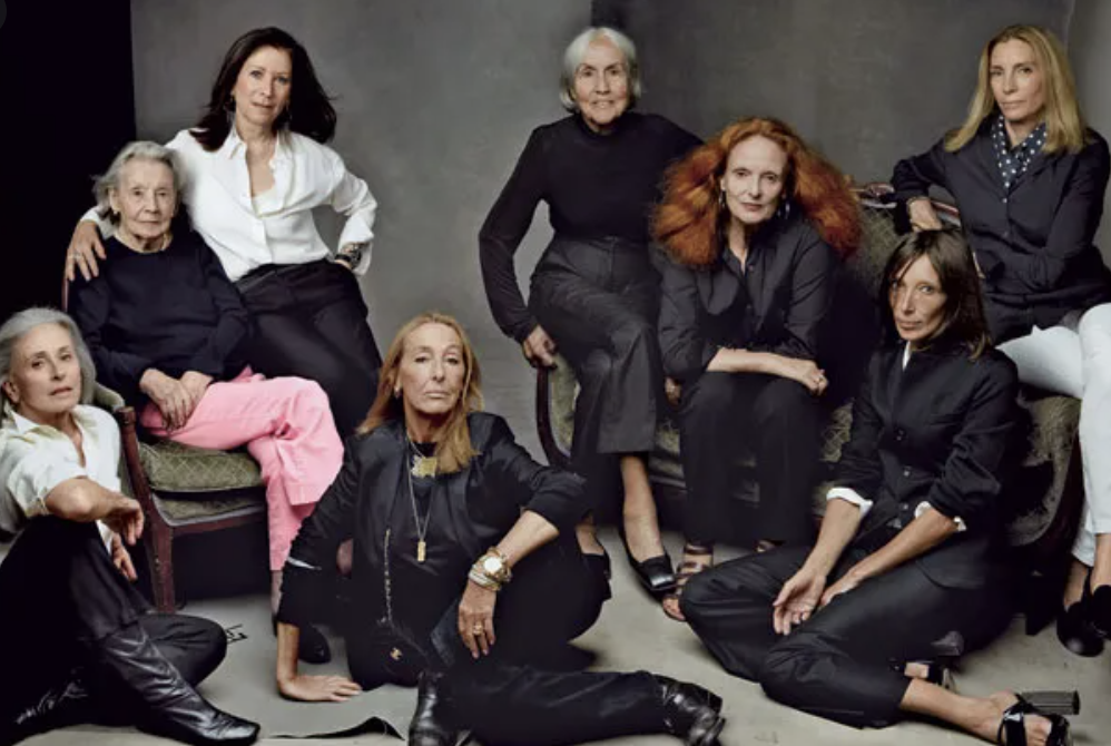 A photo of the all female Vogue editing staff in 2012 that inspired me to take my career path more serious.
