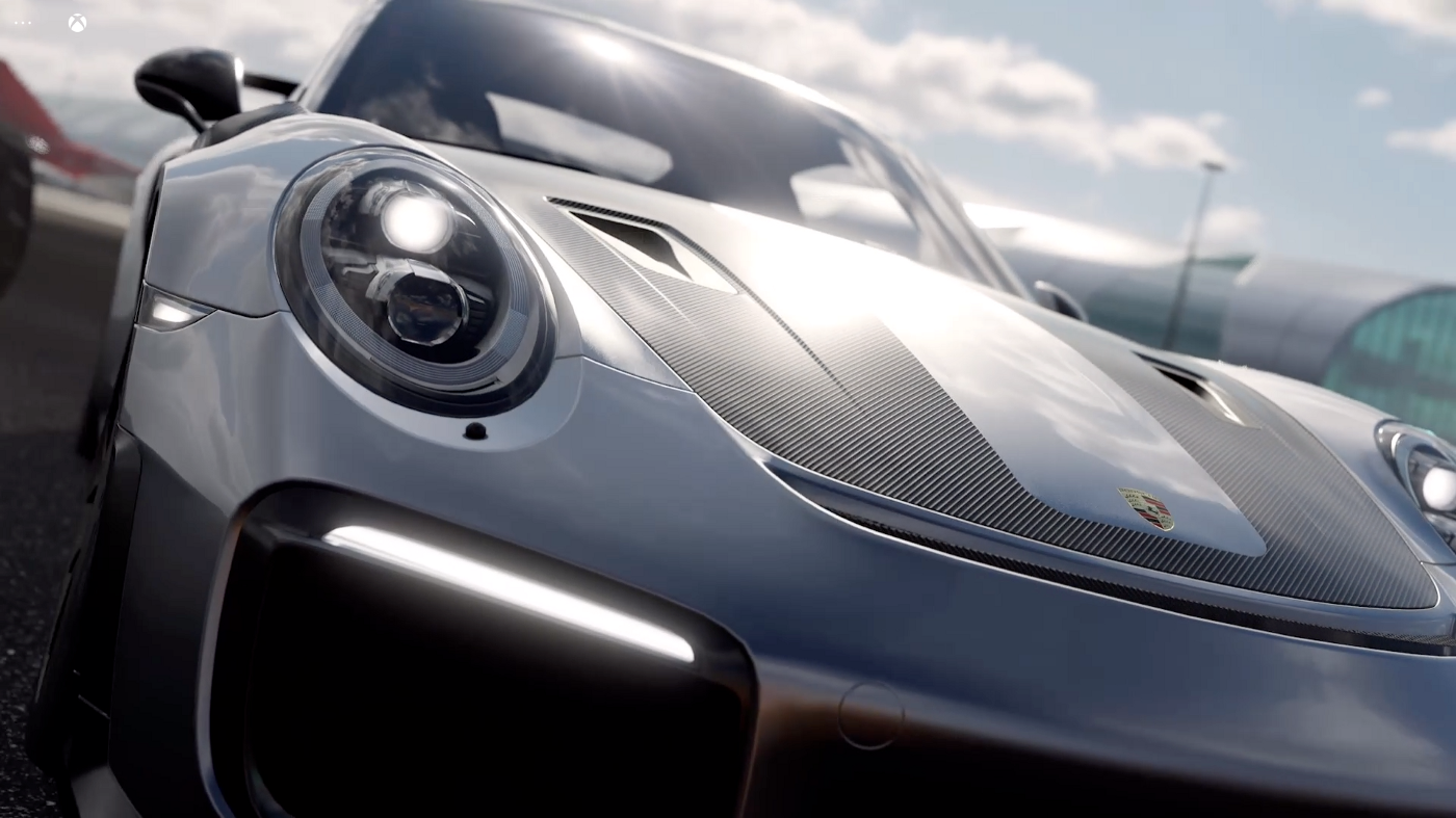 Forza 7 on Xbox Cloud Gaming