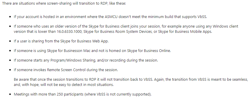 Content Sharing with a Skype-registered Polycom Group Series