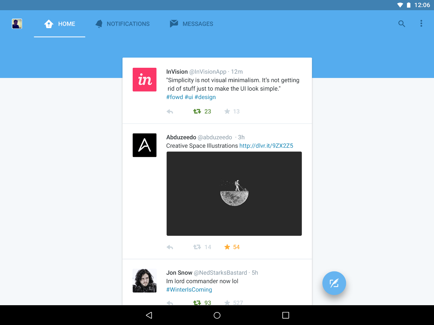 Overhauling the Twitter Experience on Android - Chris Basha
