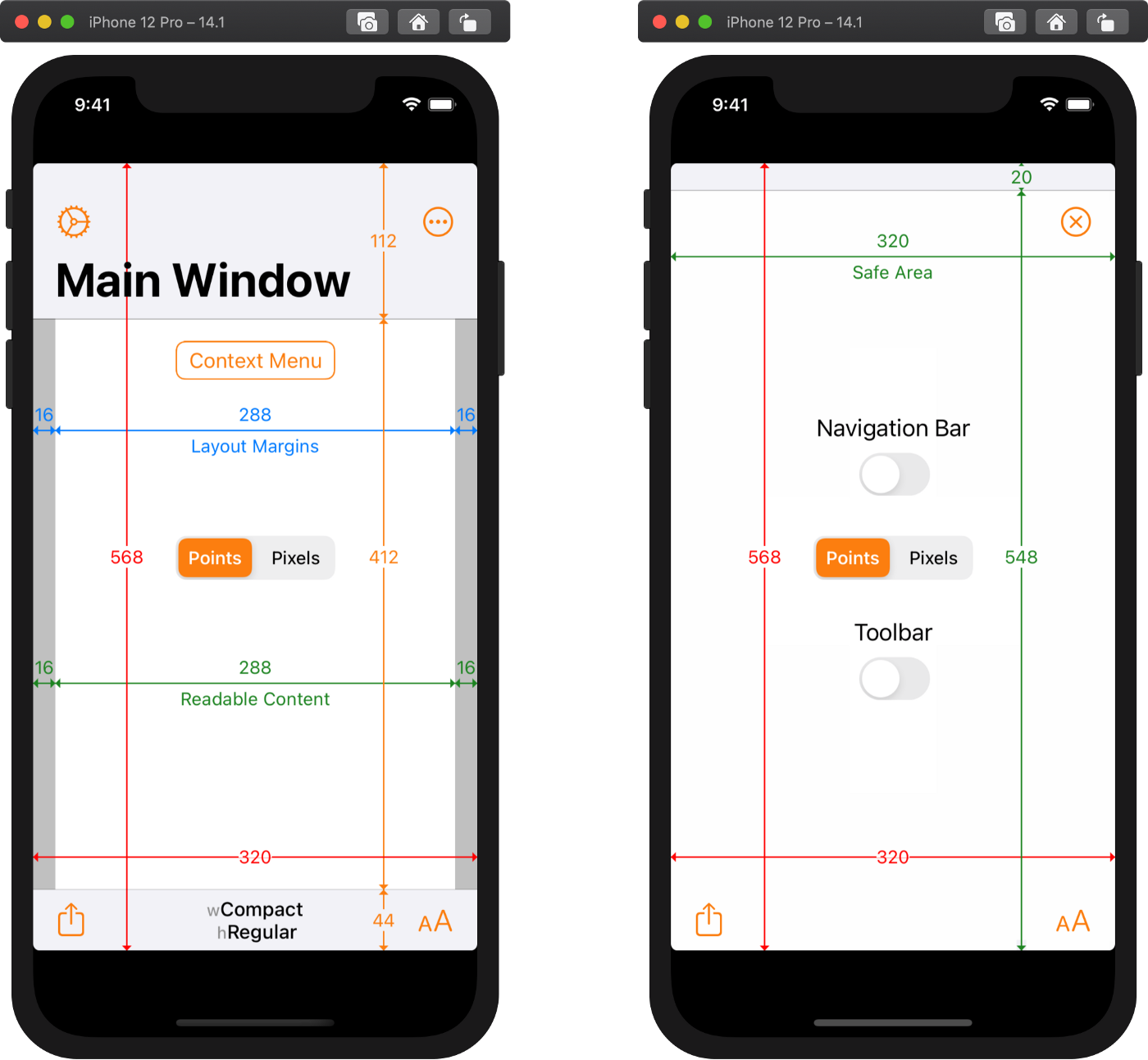 How iOS Apps Adapt to the various iPhone 21 Screen Sizes   by ...