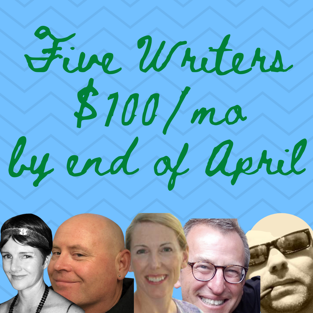 Five writers that will make over $100 a month on Medium by end of April