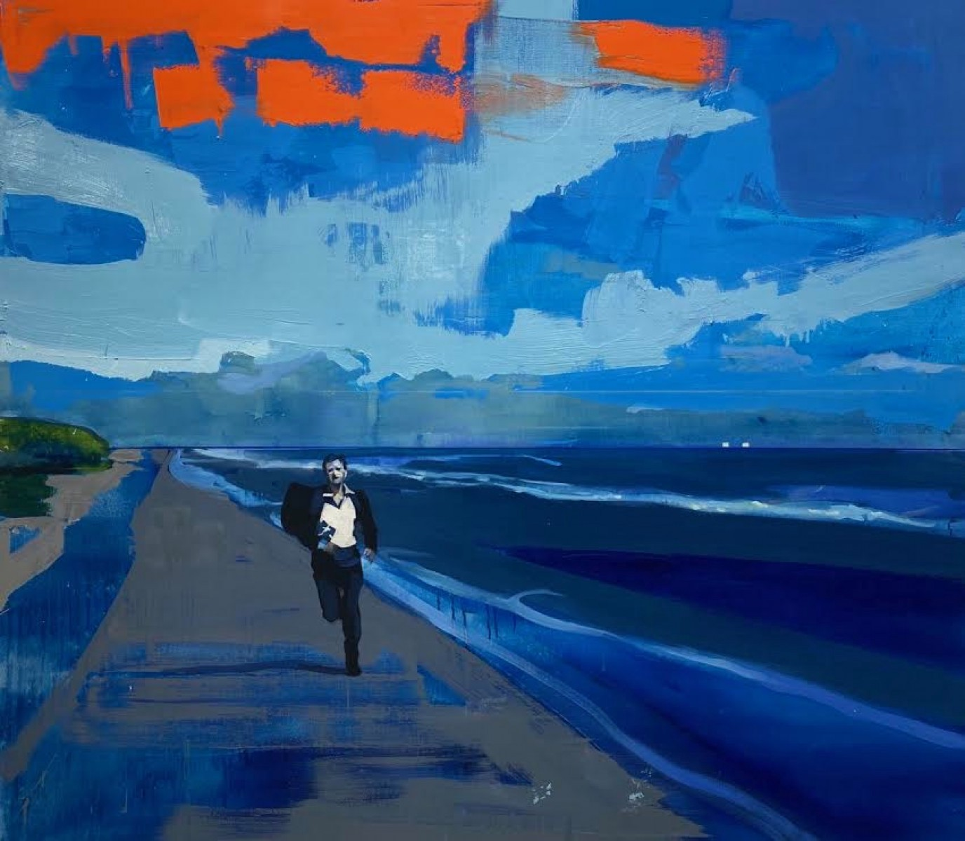 Run, by Kenneth Blom, Oslo, Norway for article by Larry G. Maguire