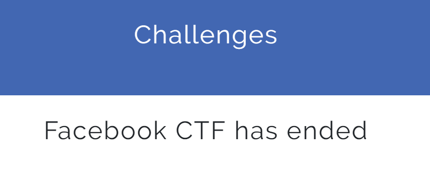 Solving each and every fb-ctf challenge PART 1 - InfoSec Write-ups