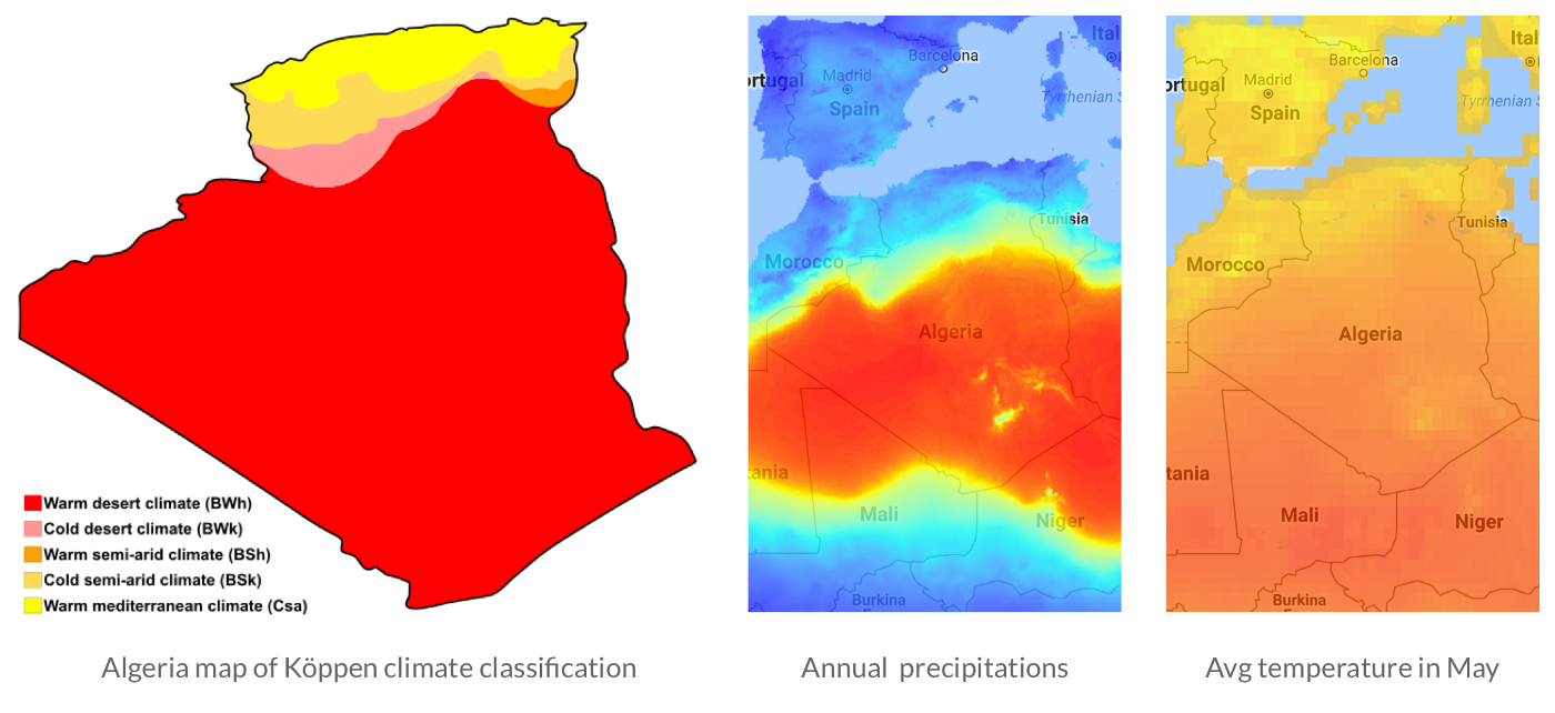 Mapping the world's climate for travelers - ClimateList on