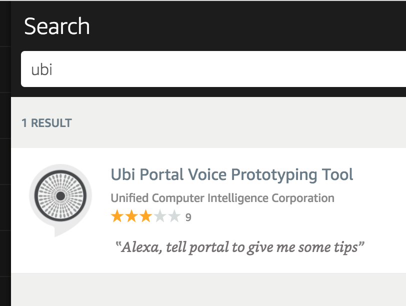 How to use SSML with the new Ubi Portal Alexa Skill
