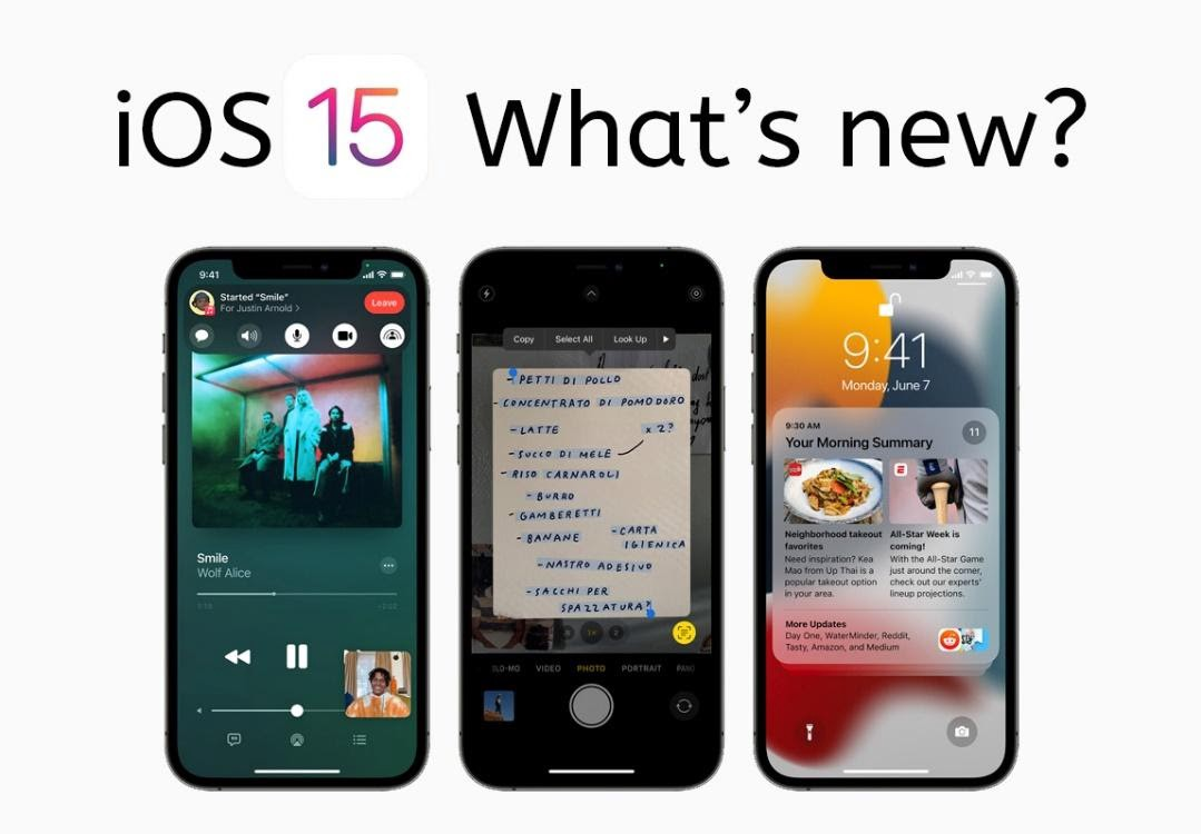 iOS 15: New Features! Everything You Need to Know