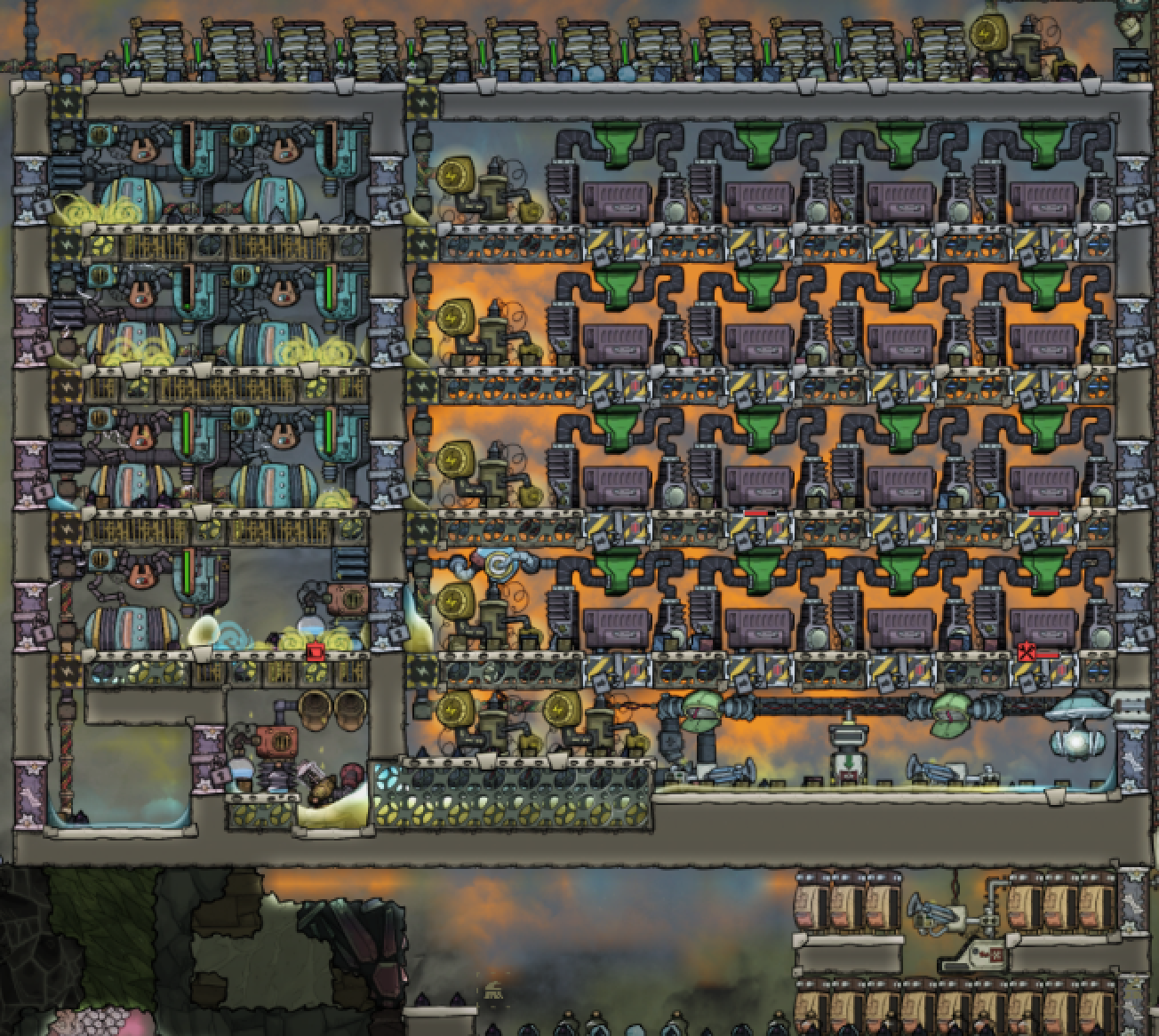 Cosmic Upgrade: End Of Natural Gas Generator + Fertilizer Synthesizer