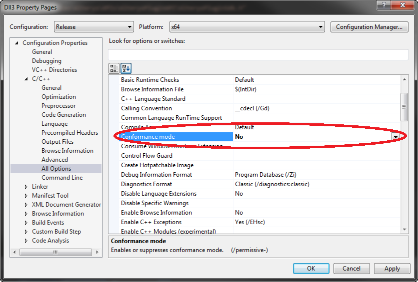 How to convince Visual Studio to compile your C++ Alteryx tool